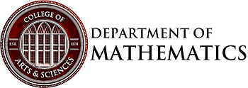 University of Alabama - Department of Mathematics